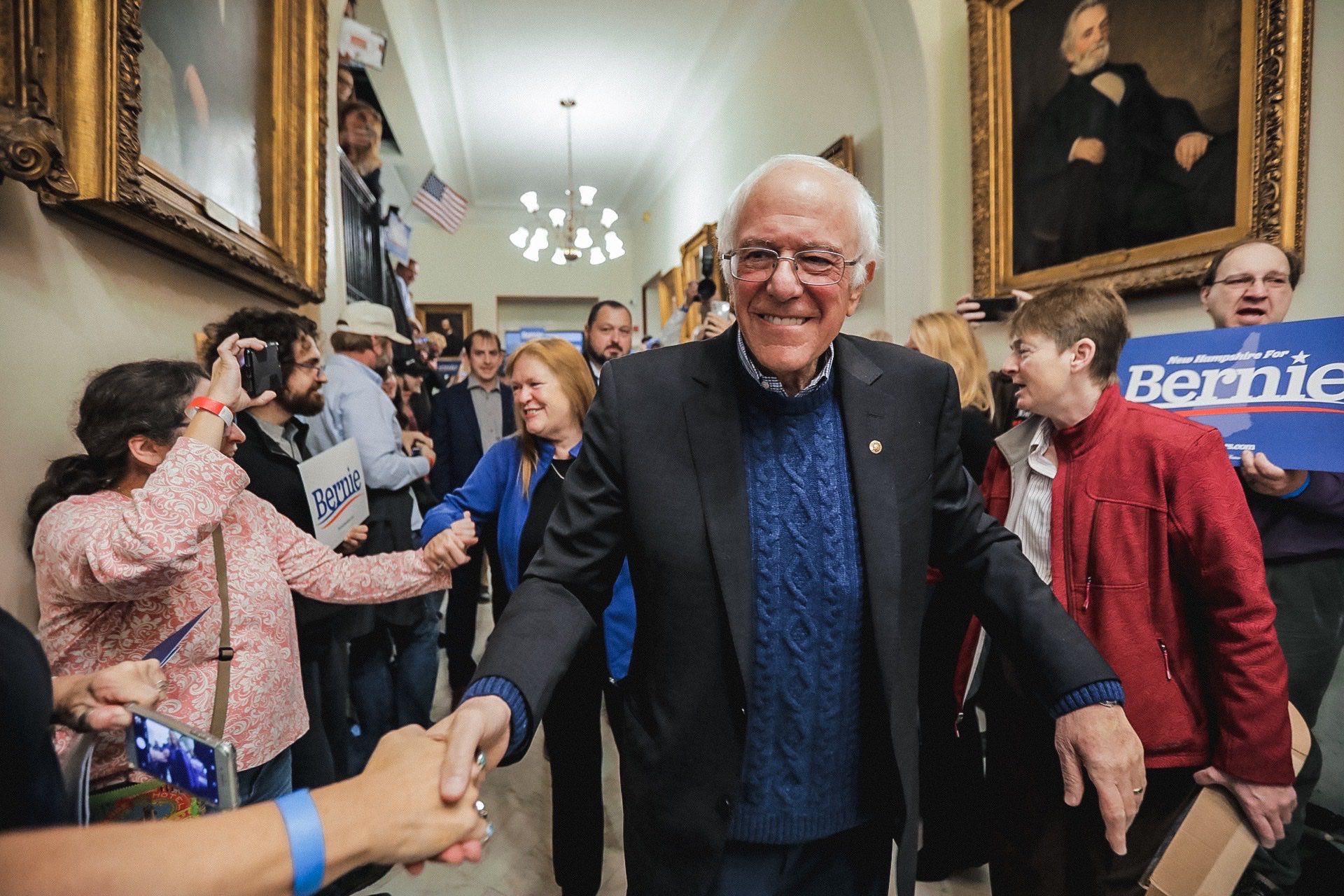 Sanders with double digit lead on Eve of Nevada caucuses